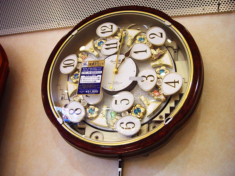 シチズンからくり時計・置き時計/掛け時計専門 …